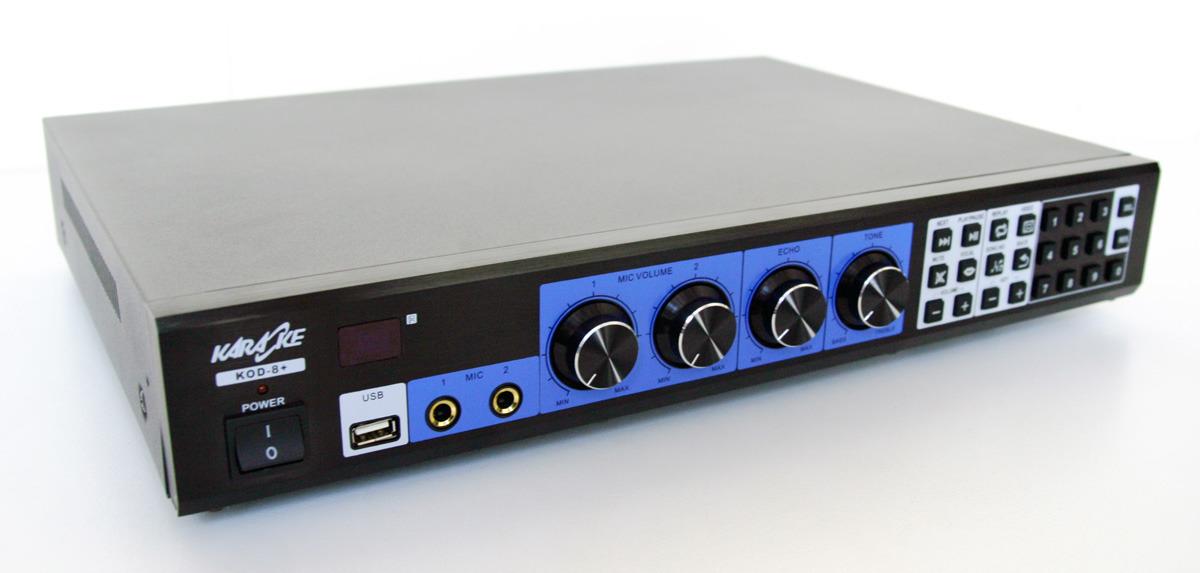 Karaoke Player Dj Music Speakers Package Mixer Amplifier