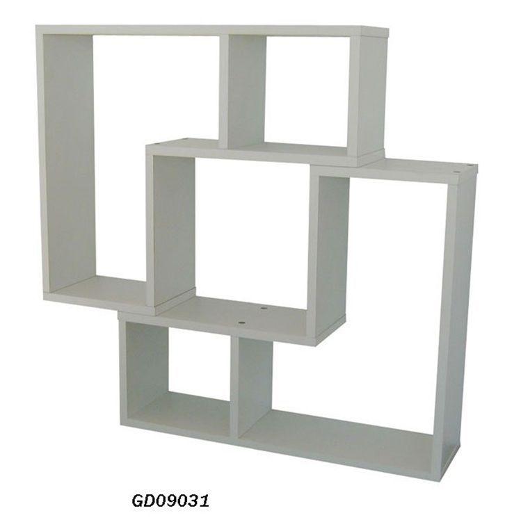 white l shape design floating shelf modern storage. Black Bedroom Furniture Sets. Home Design Ideas