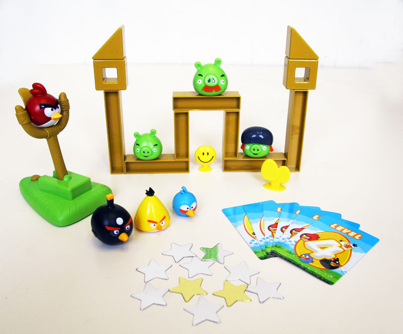 Angry Birds Table Board Game With Real Sound Ebay