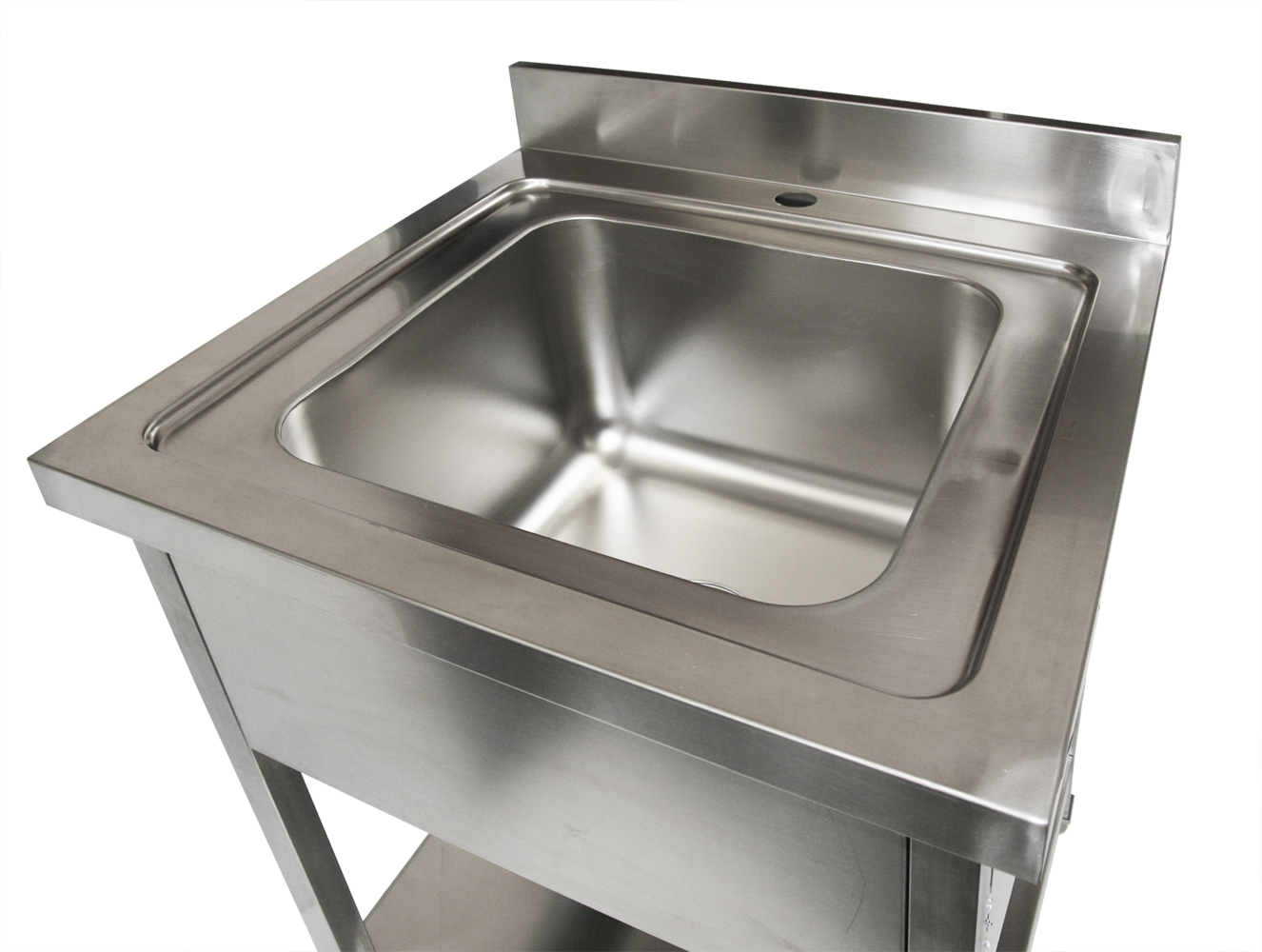 700x700 new commercial single bowl kitchen sink 304